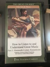 How to Listen to and Understand Great Music Part 5: 19th-Century Romanticism