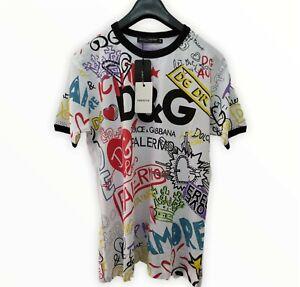 Dolce & Gabbana Men's T-shirt White Size 52 / XL