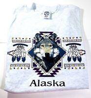 Vintage 1995 Alaska Wolf Shirt Size XL Great Condition