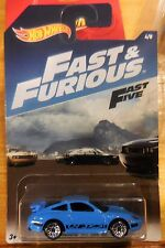 2017 Hot Wheels Fast & Furious Fast 5 Porsche 911 GT3 RS 4/8 Combine Shipping