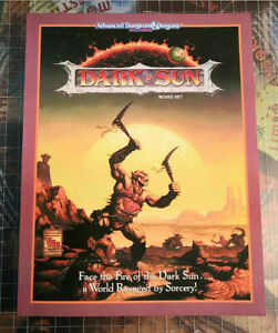 Dark Sun Boxed Set - Softcover Reprint - #2400