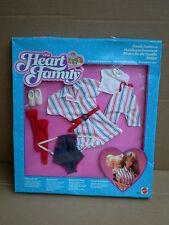 Barbie FAMIGLIA CUORE la moda PANNI Set Mom & Baby Escursionismo Outfit 1985 MATTEL