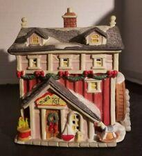 Santa's Best Stubby'S Toy Mill Santakins Christmas Village House Vintage 1993 Le