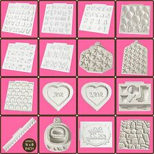 Katy Sue Design Silicon Moulds Cake Decoration / Embellishments Alphabet Numbers