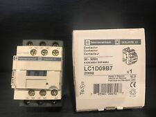 Telemecanique Square D Contactor LC1D09B7 24V 50/60Hz 4KW/400V 5HP/460 New!