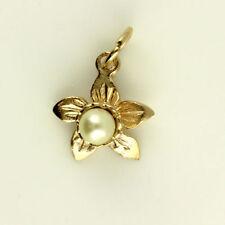 Collares y colgantes de joyería con perlas de oro rosa