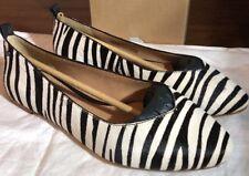 Ugg Australia Lynley Exotic Zebra Flat Shoe Sz 7. Woman 1019613* Authentic New