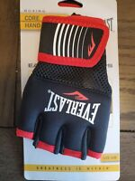 Everlast mma Boxing Core Hand Wraps, Black and Red Size S/M NEW