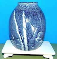 Vintage Mid Century Modern Modernist Art Studio Pottery Vase Pot Vessel, Signed!