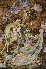 täbrizi farshchian diseño sobre seda Alfombra Persa Oriental 1,00 x 0,82