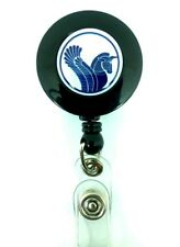 Iran Air IR Airlines YO YO ID Card Badge Holder Retractable Reel Lanyard
