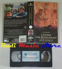 film VHS L'UOMO CHE SUSSURRAVA AI CAVALLI  Robert Redford 1999 (F73**)  no dvd