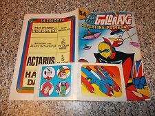 ATLAS UFO ROBOT presenta GOLDRAKE N.54 FLASH 1979 NUOVO COPERTINA POSTER+ADESIVI