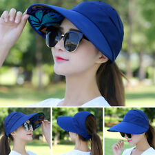 Women Protective Hat Outdoor Sun Cap Face Wide Brim Visor Summer Anti-UV CN