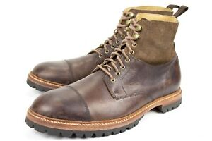 Cole Haan Grand OS Mens Size US 10.5 M Brown Leather Work Casual Boots C13306
