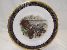 Lenox Woodland Wildlife Plate Series Beavers by Boehm