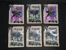 """6 3-D """"Batman"""" 1990s Movie Cards From S. South American Kelloggs Cereal Premium"""