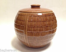 1930s Vintage McCoy HONEYCOMB Cookie Jar -- Replacement Lid