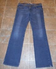 WOMENS EXPRESS JEANS SZ 13 14 STRETCH LOW RISE STRAIGHT LEG SUPER CUTE!