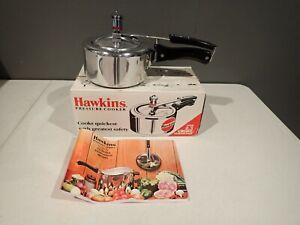 Hawkins Universal Pressure Cooker 1.5 Liters Listed Vintage Excellent w box