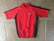 ACTIVE BIKE WEAR Red Cycling TOP SIZE MEDIUM 40 Chest