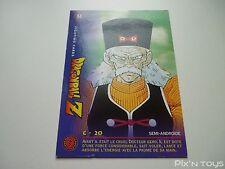 Carte originale Dragon Ball Z Fighting Cards N°55 / Panini 1999 BIRD STUDIO