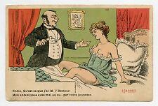 EJR PARIS . Erotique . Erotic. Enfin, Qu'est-ce que j'ai M l'Docteur .Nu. Nude