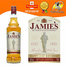 PERSONALISED WHISKY WHISKEY BOTTLE LABEL BIRTHDAY ANY OCCASION GIFT