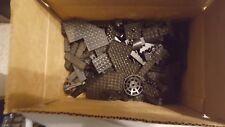 Assorted BLACK LEGO lot mix variety bricks pieces bulk tech 1.5 LBS