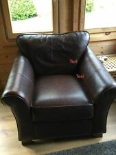 Marks and Spencer Leather Living Room Armchairs