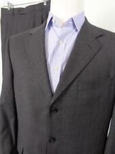 Jos A Bank 3 Button Gray Nailhead 100% Wool Suit Mens Jacket 40S 41S Pants 30x29