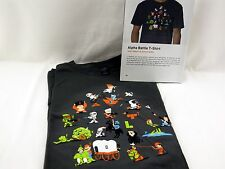 Lootcrate Woot Alpha Battle Warrior Men's XL Shirt Mario Yoshi Donkey Kong