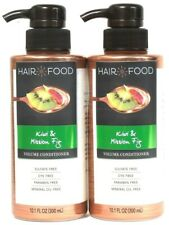 2 Ct Hair Food 10.1 Oz Kiwi & Fig Sulfate Dye & Paraben Free Volume Conditioner
