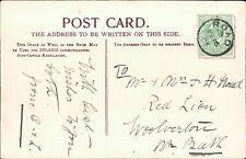 Mrs F H Noad, The Red Lion pub, Woolverton 1905   JD.80