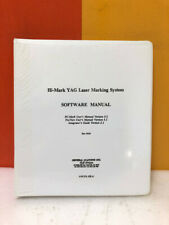 General Scanning 273 333 01 Hi Mark Yag Laser Marking System Software Manual