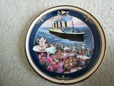 Bradford Exchange ~ The Cafe Parisien ~ Titanic: Queen Of The Ocean ~ # 6520A