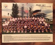 2005 Pittsburgh Steelers Team Picture NFL Reebok Heinz Field Super Bowl XL Champ