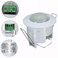 360° 220V Infrared Recessed PIR Ceiling Motion Sensor Detector Light Switch UK