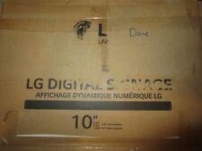 "LG 10SM3TB-B 10"" LED-Backlit Digital Signage Display"