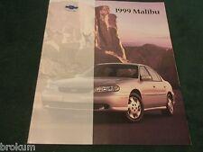 MINT 1999 CHEVROLET MALIBU SALES BROCHURE ORIGINAL NEW (BOX 729)