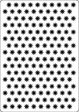 Small Flowers 107393 Embossing Folder for Cardmaking, Scrapbooking, etc