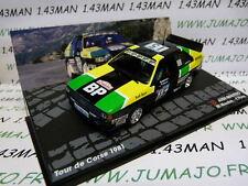 RIT24 1/43 IXO Altaya Rallye : AUDI Quattro Tour de Corse 1981 M MOUTON/PONS