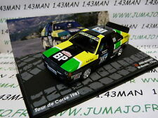 voiture 1/43 IXO Altaya Rallye : AUDI Quattro Tour de Corse 1981 M MOUTON/PONS