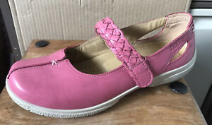 Ladies HOTTER 'Shake' Comfort Concept Leather Shoes  - Size 5 (38)