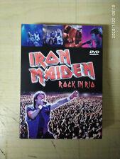 DVD - IRON MAIDEN - ROCK IN RIO - ROCK METAL