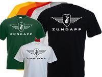 T-shirt logo ZUNDAPP, moto , vintage, biker, motard, S, M, L, XL, NEUF