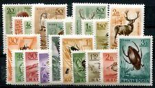 UNGARN 1953 1285-1294,1354-1363 ** POSTFRISCH TIERE (I1344