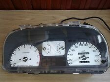 90-91 Honda Civic Wagon CRX white dash Gauge Cluster Speedometer EF 200 km rare