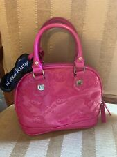 Hello Kitty Loungefly Embossed Large Satchel Patent Pink Handbag Weekend Purse
