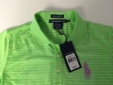 NWT POLO RALPH LAUREN LADIES SS SHIRT TAILORED GOLF FIT SMALL BIG PONY $89.50